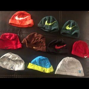 Nike and Jordan hats